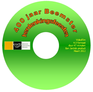 DVD label 400 jaar