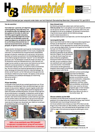 HGB Nieuwsbrief 22